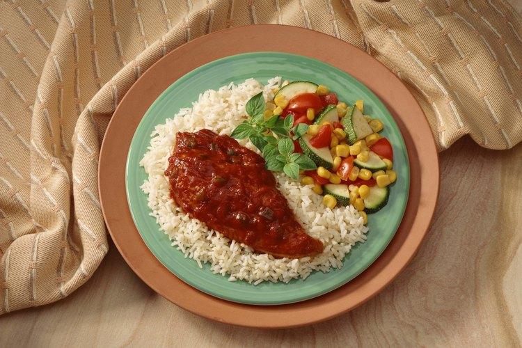 El arroz blanco Basmati se cocina en sólo 20 minutos.