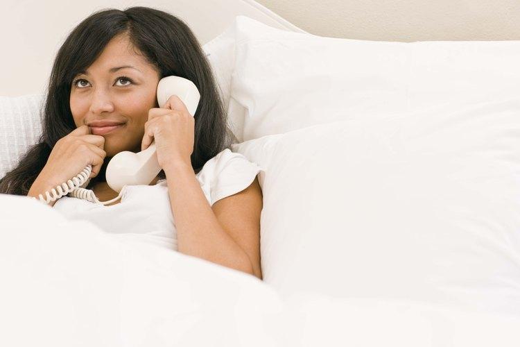 Un teléfono fijo ofrece comodidad y seguridad.