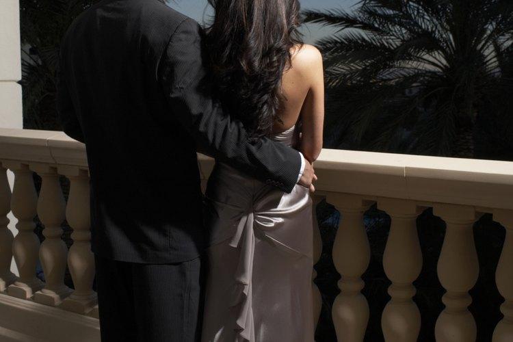 La vestimenta formal está reservada para ocasiones muy elegantes.
