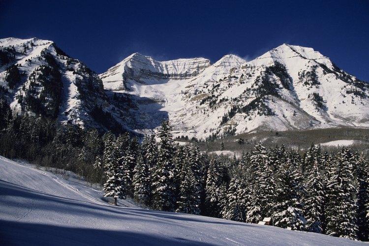 Wasatch Mountain State Park provee la oportunidad de manejar y acampar  todo el año.