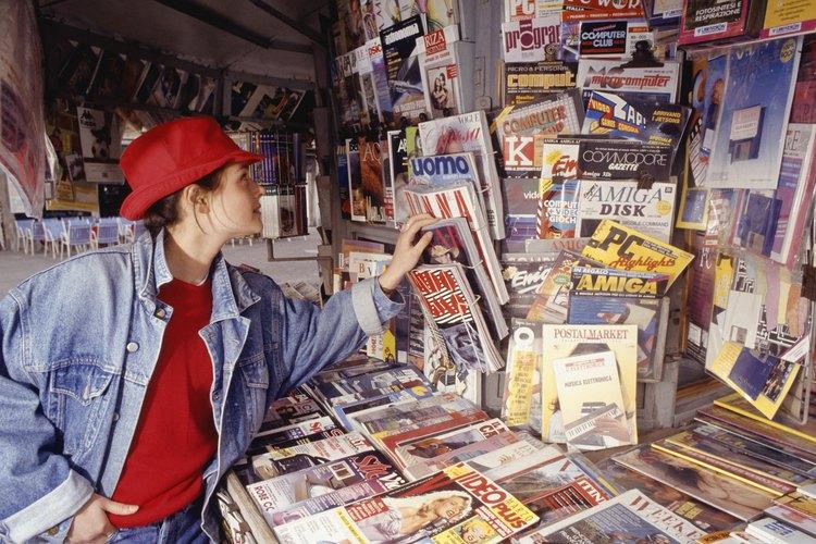 Las revistas permiten anunciar a un mercado objetivo específico.