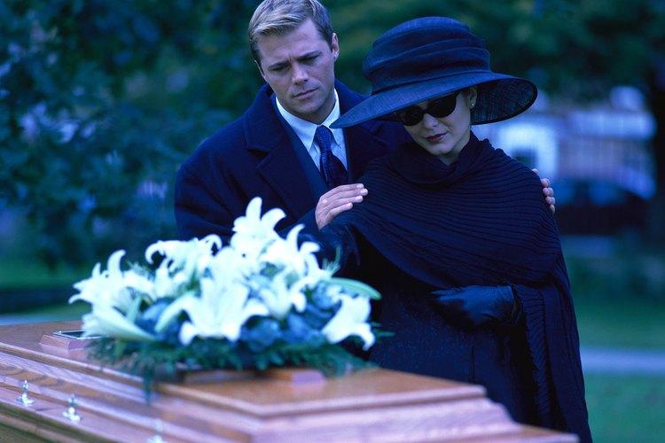 El entierro cristiano es un ritual religioso.