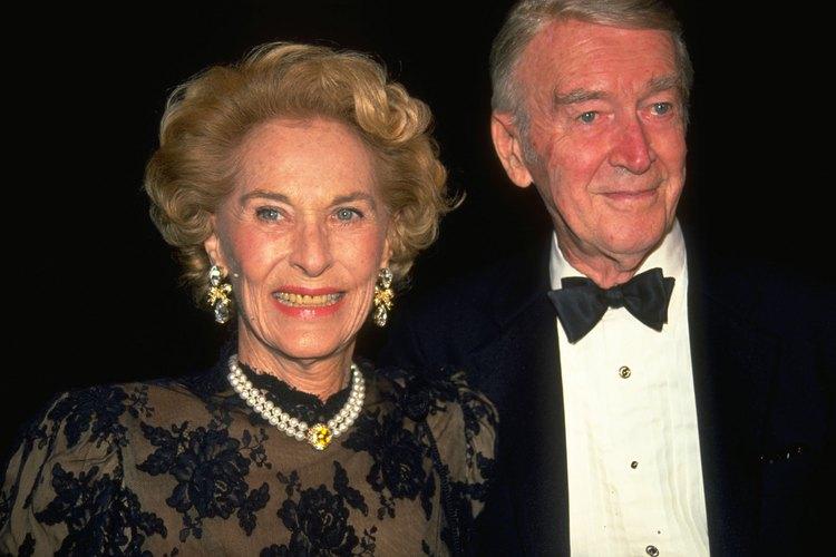 James Stewart y su esposa