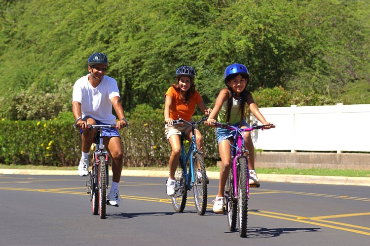 Davenport cuenta con numerosos senderos para bicicletas, ideales para los paseos familiares.