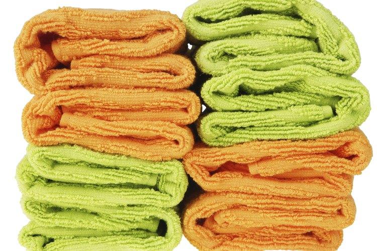El apropiado lavado da cómo resultado unas toallas con un olor fresco.