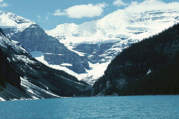 El lago Louise es uno de los lugares más fotografiados en Canadá.
