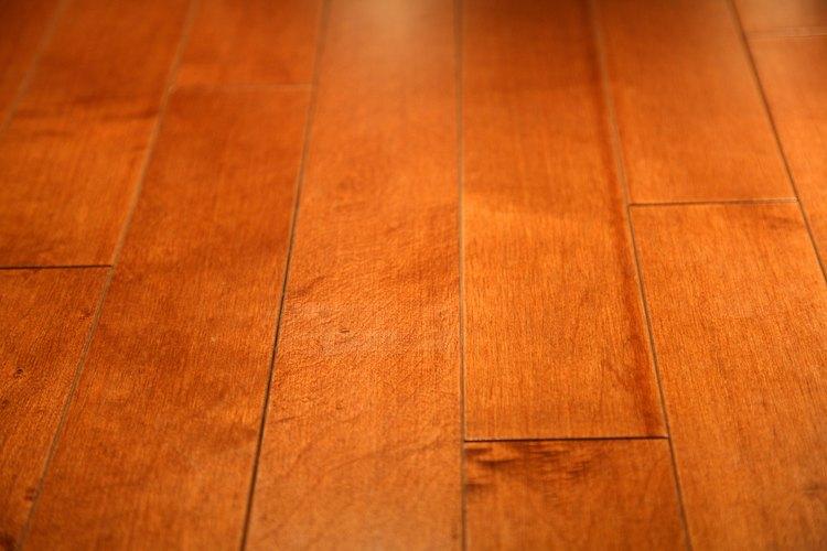 Repara las tablas de madera hinchadas.
