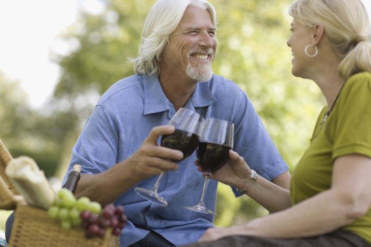 Un vaso de Riunite Lambrusco tiene menos calorías que un vino tinto típico.