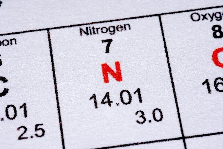 El aire es 78 por ciento nitrógeno.