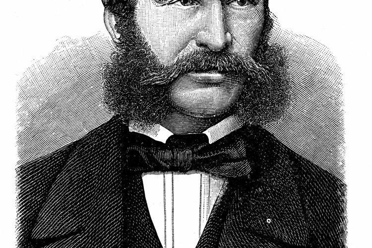 Las patillas gruesas a veces se conectan con el bigote.