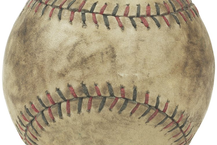 Pelota de béisbol.