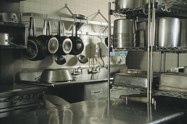 Cocina limpia.