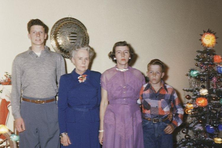 Las fotos familiares de los años sesenta cuentan la historia a través de las imágenes.