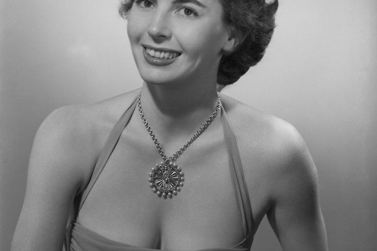 El maquillaje de las mujeres en 1950 era suave y natural.