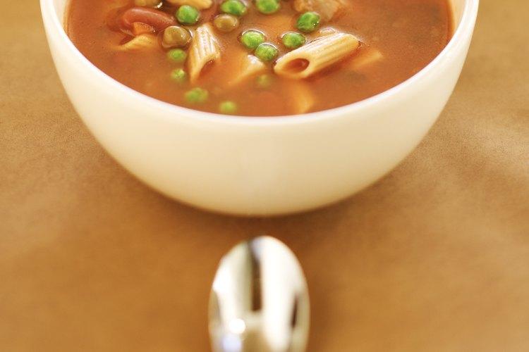 Congela tus sopas para disfrutarlas en cualquier momento.