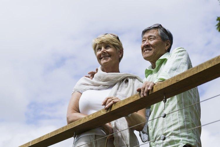 Las terrazas en techos planos le ofrecen una vista panorámica a los propietarios de viviendas.