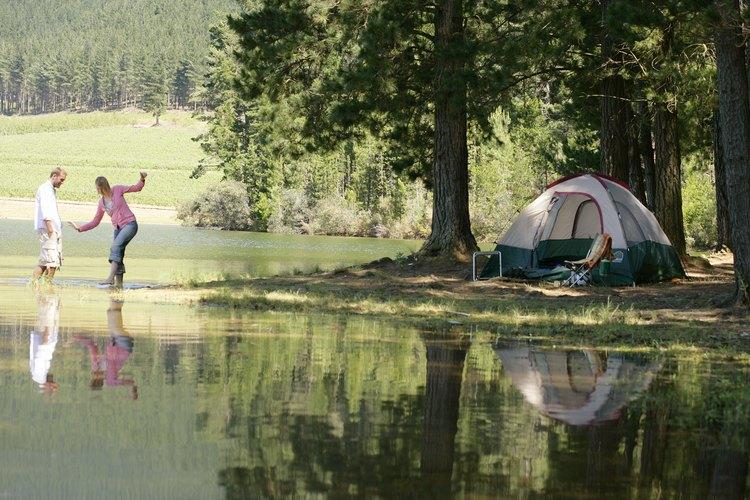 El Bosque Nacional Catalina (fs.usda.gov) cuenta con 34 campamentos repartidos por distintas altitudes en las montañas de Tucson.
