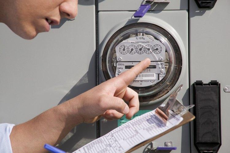 Los cierres de los medidores eléctricos evitan su manipulación.