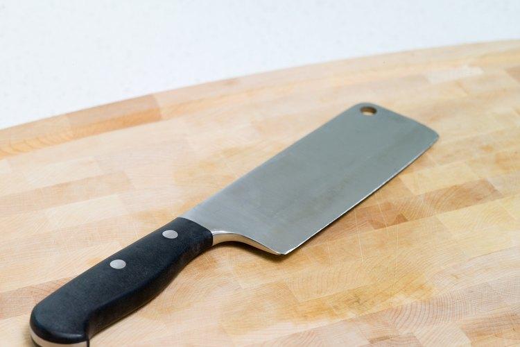 Las cuchillas son una de las clases de cuchillos más resistentes.