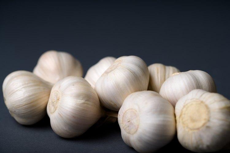 Los ajos frescos suman sabor a los alimentos y son saludables.
