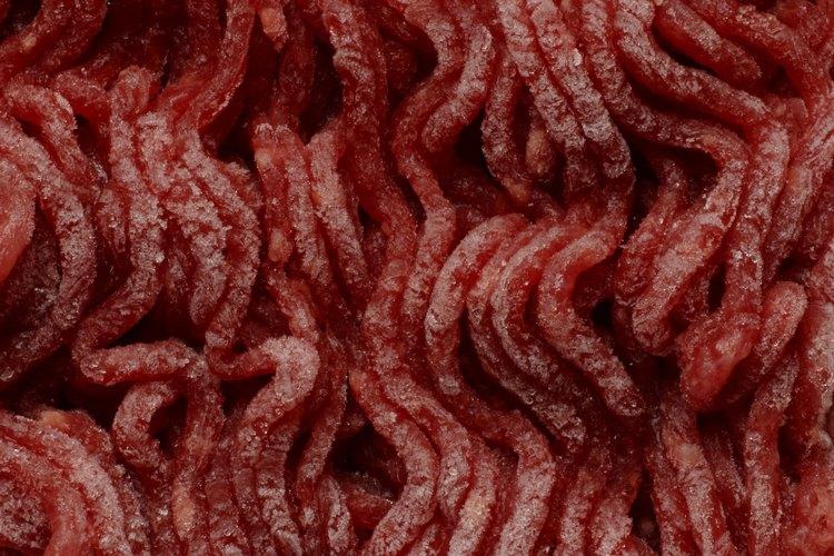 Se puede hervir la carne picada en tan solo algunos minutos.