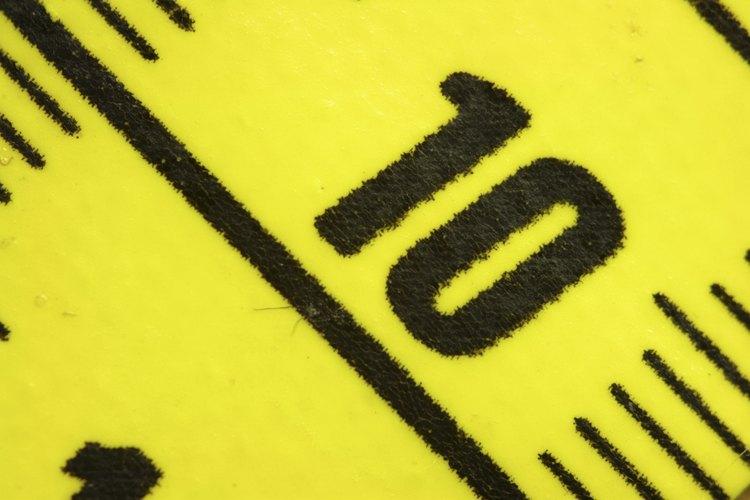 Se pueden tomar medidas precisas con el sistema métrico.