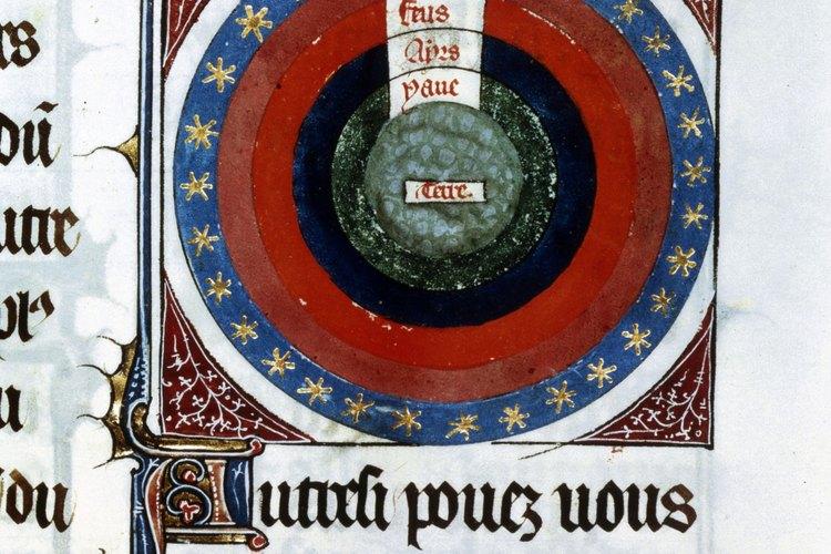 Un libro de astronomía.