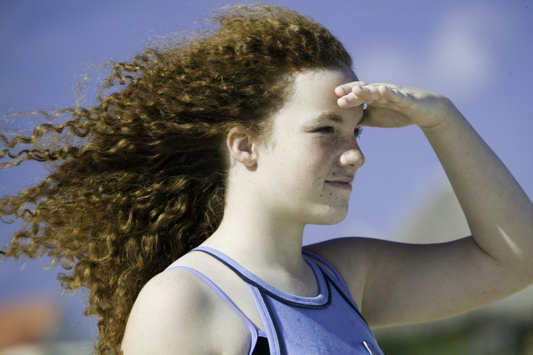 Cabello rizado versus cabello ondulado.