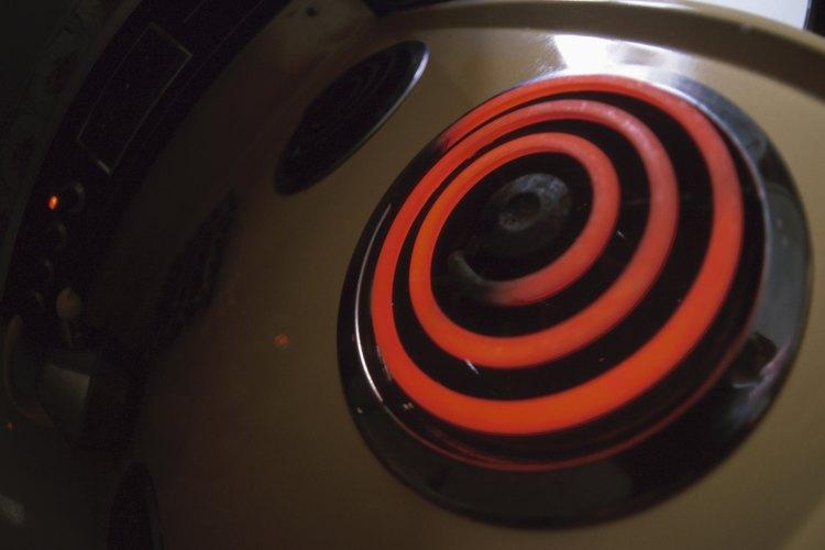La temperatura del quemador de una estufa puede variar drásticamente.