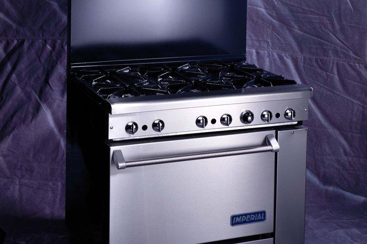 El sensor de calor y el termostato funcionan juntos en el horno.