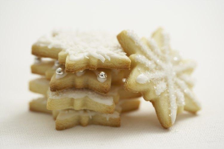 El tamaño y la textura de las galletas cambia cuando se usa manteca en lugar de mantequilla.