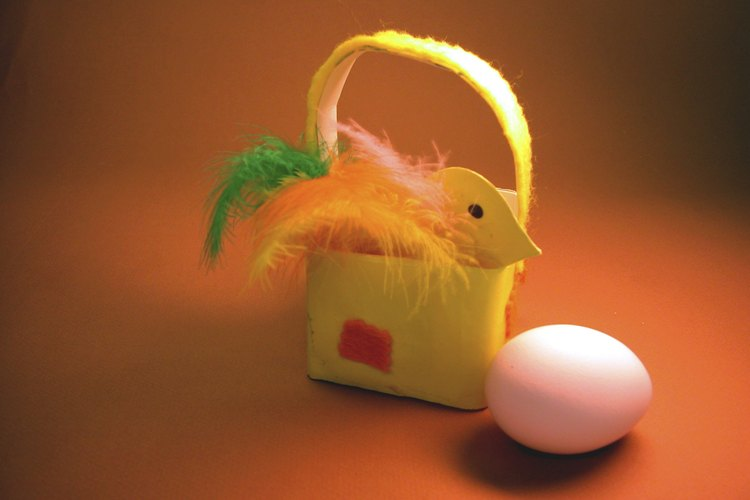 Coloca los huevos de costado.