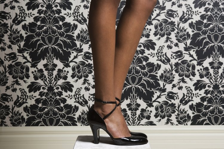 Zapatos con tacos altos.