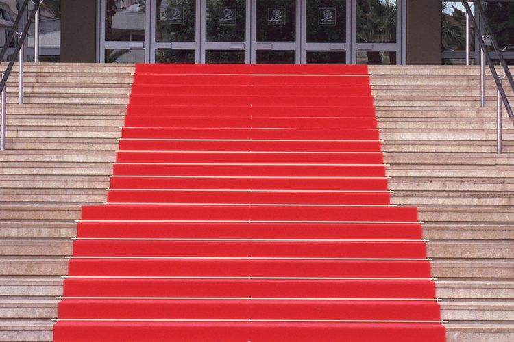 Alfombra roja, icono de las celebridades.