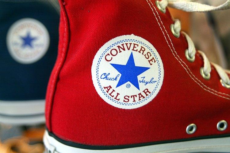 Zapatillas deportivas Converse.