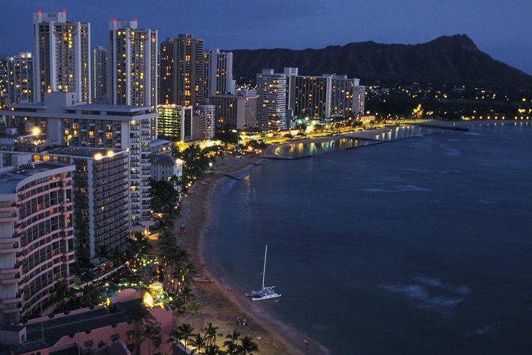Puedes recibir la temporada festiva en Honolulu.