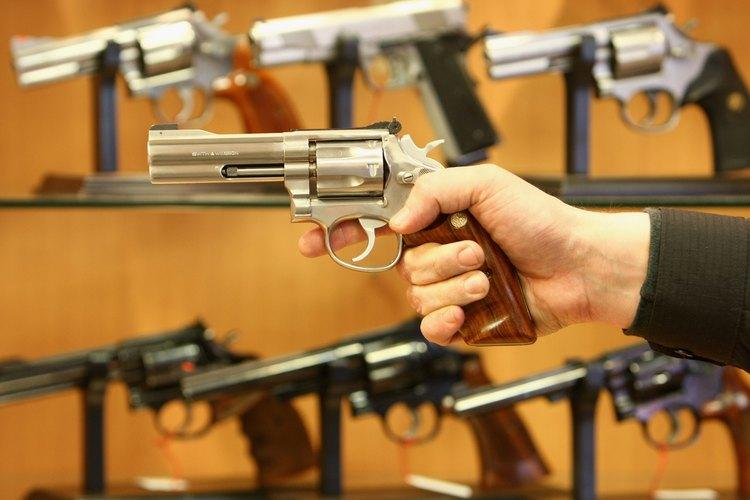 Pistolas Magnum.