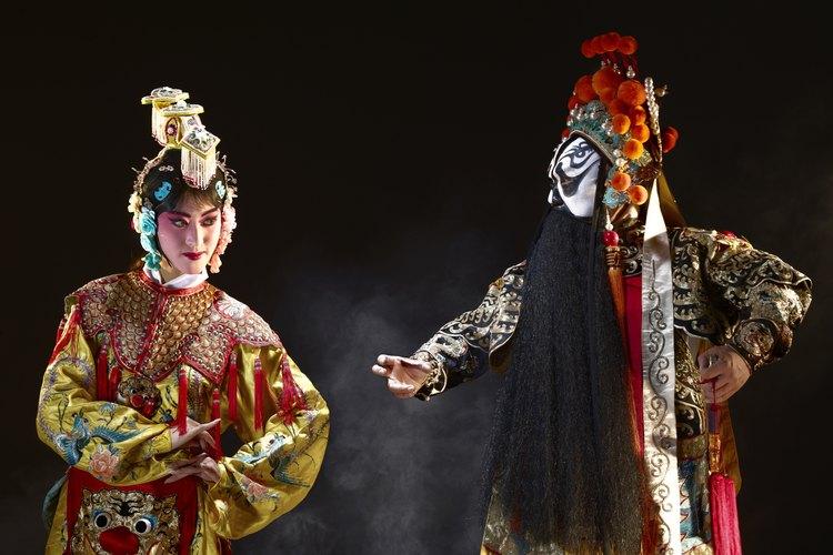 La danza china se divide en las categorías de clásica y folclórica.