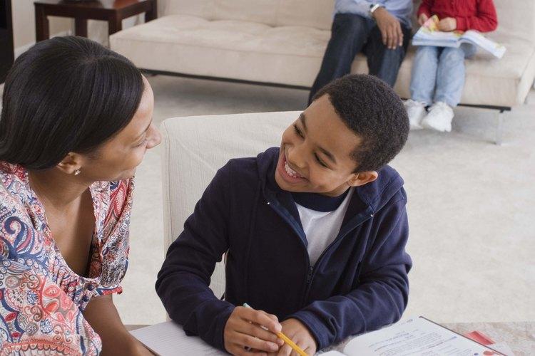 Crear buenos hábitos en un niño puede ayudar al niño más adelante en la vida.