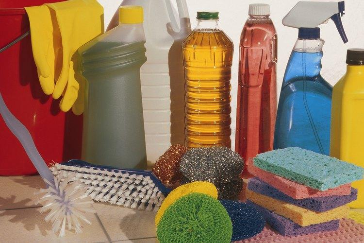 Muchos productos de limpieza contienen ácido sulfúrico.