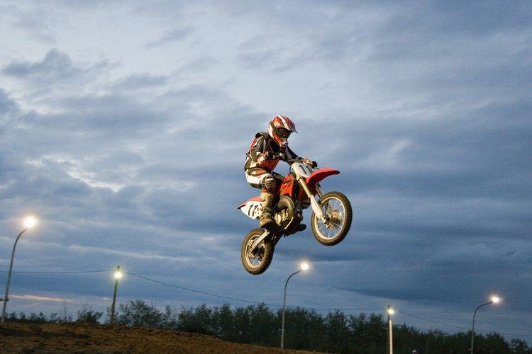 Los profesionales de motocross pueden ganar mucho si son exitosos.