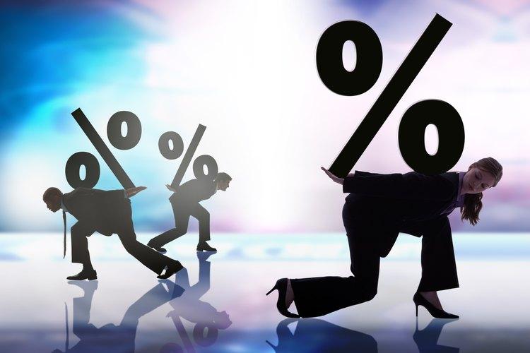 Las tasas de interés en un préstamo sin revisión de crédito son mucho más altas que las de los préstamos bancarios regulares.