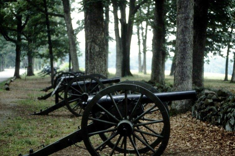 El campo de batalla es el mayor atractivo de Gettysburg.