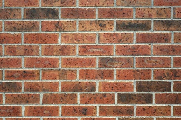 El mortero mantiene unidos los bloques de una pared.