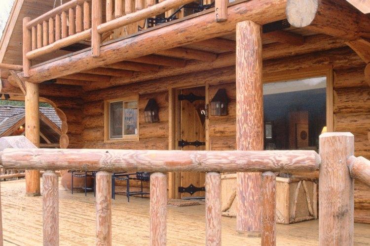 Como una forma de determinar la cantidad de troncos necesarios, comienza con una cabaña de una habitación.