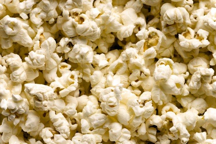 Las palomitas de maíz pueden envolverse de muchas maneras.