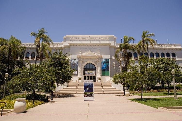 El Parque Balboa tiene varios museos que vale la pena visitar.