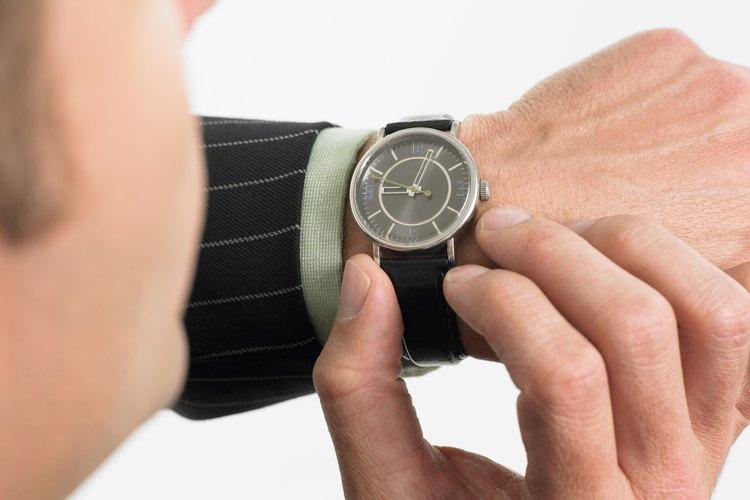 Una pista sobre la fiabilidad de la gente es si son puntuales.