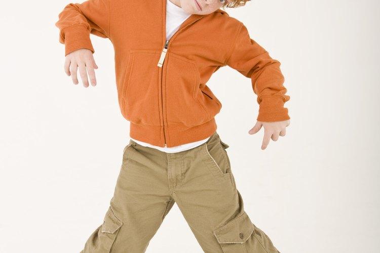 Muchos niños buscan carreras de baile profesional.