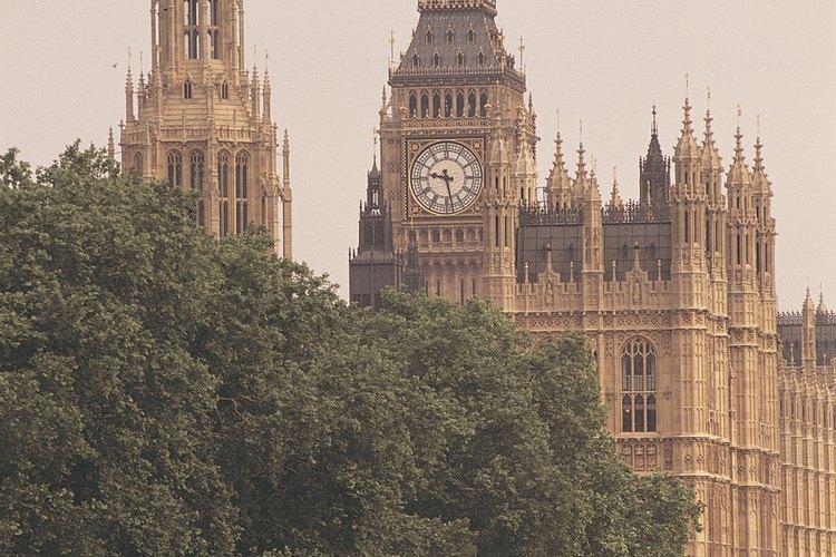 El gobierno británico es un tipo de sistema parlamentario.